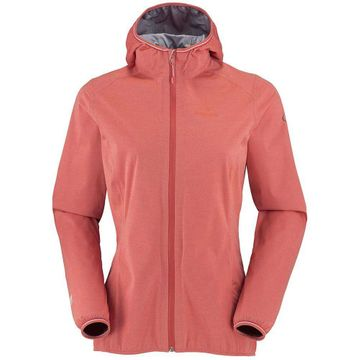 Eider Womens Target Knit Jacket Peach Coral Cloudy