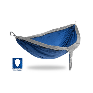 ENO DoubleNest Hammock National Park Foundation (NPF) Special Edition Sapphire/ Grey