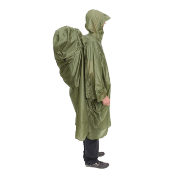 Exped Pack Poncho UL M Green