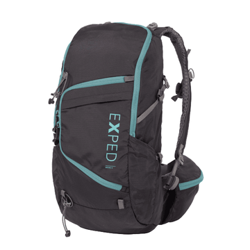 Exped Skyline 15 Backpack Black/ Pool Blue