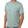 Free Fly Mens Bamboo Channel Pocket Tee Keys Green/ Aspen Grey