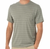 Free Fly Mens Bamboo Channel Pocket Tee Sagebrush/ Steel Grey (Close Out)