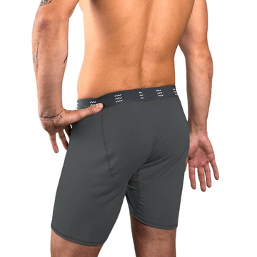 Free Fly Mens Bamboo Comfort Boxer Brief Charcoal