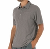 Free Fly Mens Bamboo Slub Polo Steel Grey
