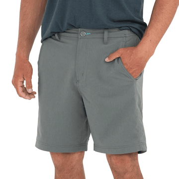 Free Fly Mens Utility Short Smoke Grey