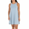 Free Fly Womens Bamboo Flex Dress Cays Blue