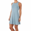 Free Fly Womens Bamboo Flex Dress Heather Tide