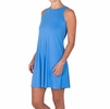 Free Fly Womens Bamboo Flex Dress Surf Blue (Close Out)