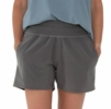 Free Fly Womens Pull-On Breeze Short Graphite