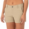 Free Fly Womens Utility Short Coastal Khaki
