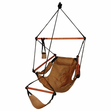 Hammaka Hammocks Original Hanging Chair Wood Dowels Tan
