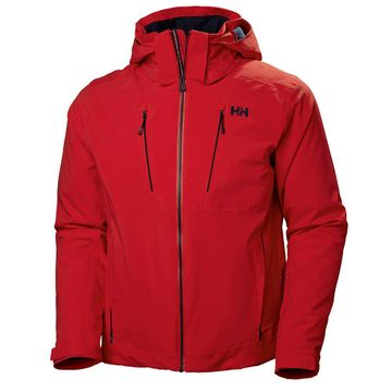 Helly Hansen Mens Alpha 3.0 Jacket Alert Red