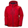 Helly Hansen Mens Juniper 3.0 Jacket Flag Red