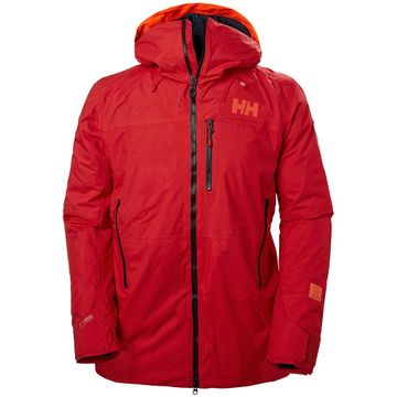 Helly Hansen Mens Straightline Lifaloft Jacket Alert Red