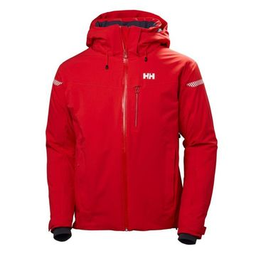 Helly Hansen Mens Swift 4.0 Jacket Flag Red