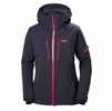 Helly Hansen Womens Motionista Jacket Graphite Blue/ Goji Berry