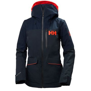 Helly Hansen Womens Powchaser Lifaloft Jacket Navy