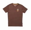 Howler Bros Mens Azteca T-Shirt Espresso (Close Out)
