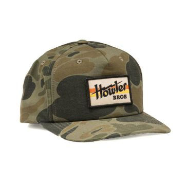Howler Bros Mens Electric Stripe Snapback Military