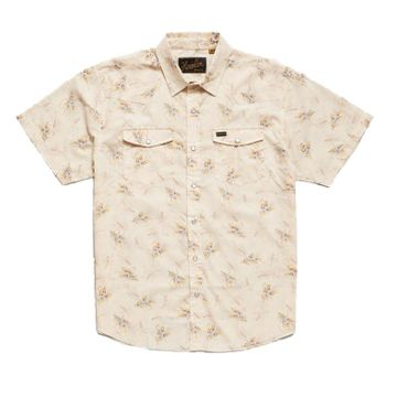 Howler Bros Mens H Bar B Snapshirt Grainfields Print: Cereal (Close Out)