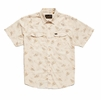Howler Bros Mens H Bar B Snapshirt Grainfields Print: Cereal