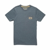 Howler Bros Mens Howler Electric Stripe Pocket T Indigo