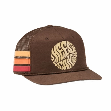 Howler Bros Mens HTC Liquid Daydream Snapback Cocoa (Close Out)\