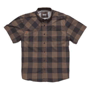 Howler Bros Mens Matagorda Shirt Walston Plaid: Tonal Eclipse (Close Out)
