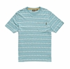 Howler Bros Mens Portals Jacquard T Portals Jacquard: Seaspray (Close Out)