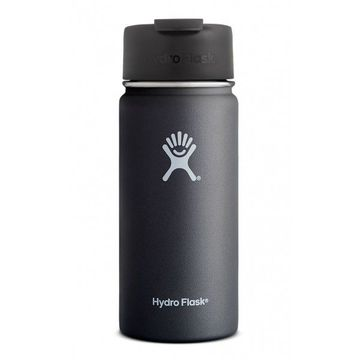 Hydro Flask 16oz Wide Mouth w/ Flip Lid Black