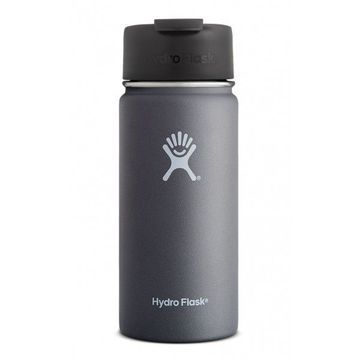 Hydro Flask 16oz Wide Mouth w/ Flip Lid Graphite