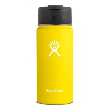 Hydro Flask 16oz Wide Mouth w/ Flip Lid Lemon