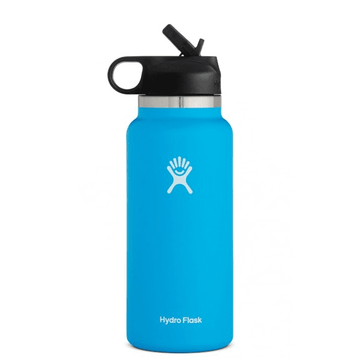 Hydro Flask 32oz Wide Mouth 2.0 Straw Lid Pacific