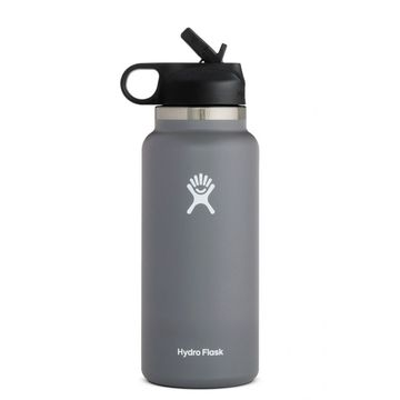 Hydro Flask 32oz Wide Mouth 2.0 Straw Lid Stone