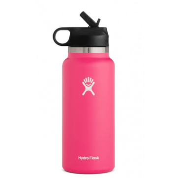 Hydro Flask 32oz Wide Mouth 2.0 Straw Lid Watermelon
