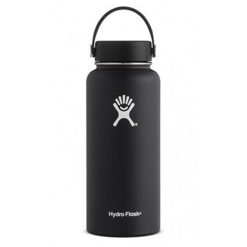 Hydro Flask 32oz Wide Mouth w/ Flex Cap Black