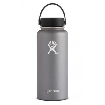 Hydro Flask 32oz Wide Mouth w/ Flex Cap Graphite