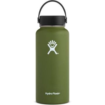 Hydro Flask 32oz Wide Mouth w/ Flex Cap Olive