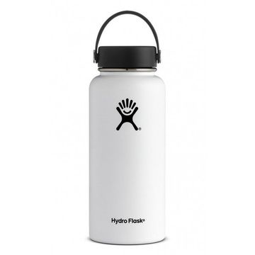 Hydro Flask 32oz Wide Mouth w/ Flex Cap White