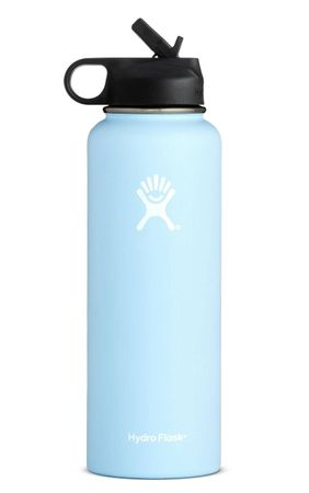 Hydro Flask 32oz Wide Mouth w/ Straw Cap Frost