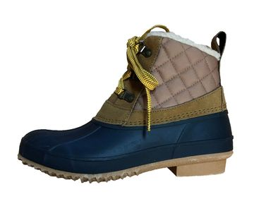Khombu Womens Dixie Tan/ Navy