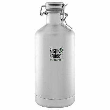 Klean Kanteen Insulated Growler 64oz Stainless Steel