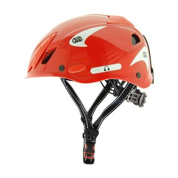 Kong Mouse Work Helmet Red Reflective White