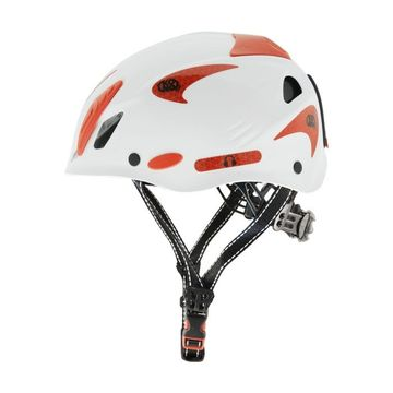 Kong Mouse Work Helmet White Reflective Red