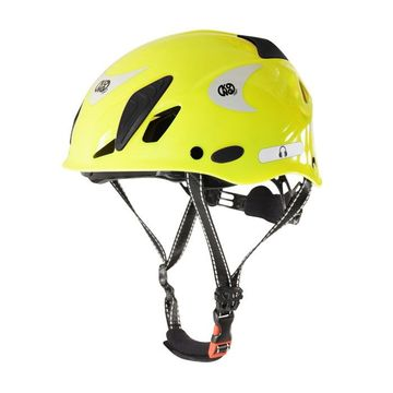 Kong Mouse Work Helmet Yellow Fluo Reflective