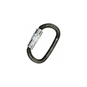 Kong Ovalone Carbon Auto Block Carabiner Black ANSI