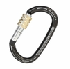 Kong Ovalone Carbon Screw Carabiner Black