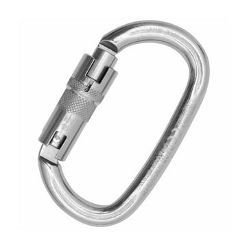 Kong Ovalone Stainless Steel Auto Block ANSI Carabiner