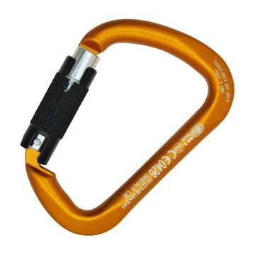 Kong X-Large ALU Auto Block Carabiner Orange/ Black