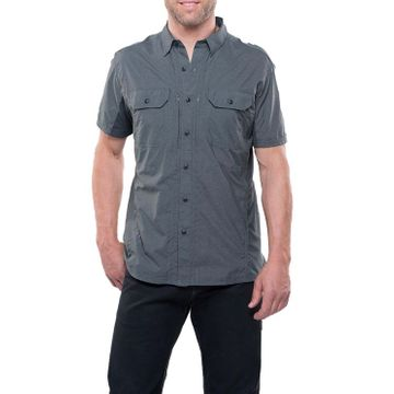 Kuhl Mens Airspeed Short Sleeve Carbon (Close Out)